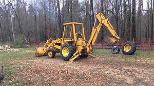 1974 Case 480b Extend-a-hoe Backhoe