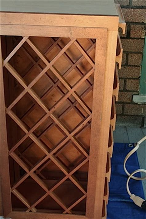 How To Build A Wine Cabinet by How To Make A Wine Rack Cabinet Plans Diy Free