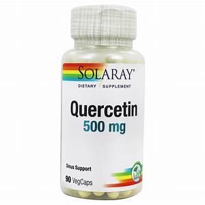 Buy Solaray - Quercetin Non-citrus 500 Mg