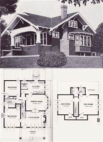 bungalow house plans the varina 1920s bungalow 1923 craftsman style from the standard homes company house plans