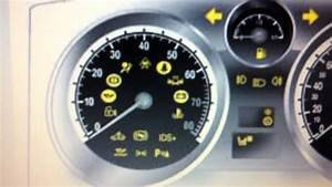 Stop Turn And Lights Vauxhall Zafira Airbag Warning Light How To Turn It Off