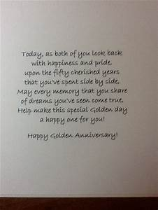 50th anniversary sentiments pinterest numbers With words for 50th wedding anniversary card