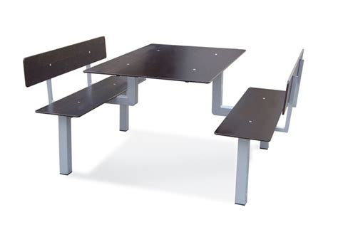 rd bureau table avec banc attenant intérieur ou extérieur leb 11
