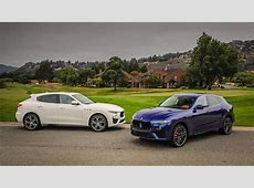 Maserati shows off Levante GTS and Trofeo at Monterey