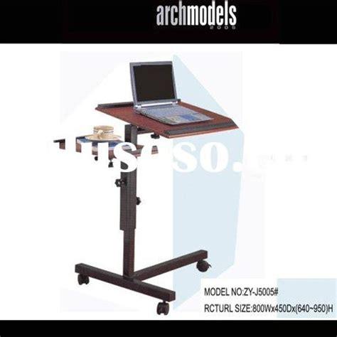 techni mobili desk w retractable table laptop table adjustable laptop table adjustable