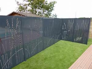 Cloture De Jardin : la cl ture en t le thermolaqu e permet de donner un style ~ Premium-room.com Idées de Décoration