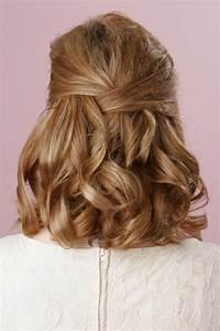 Shoulder Length Bridal Hairstyles