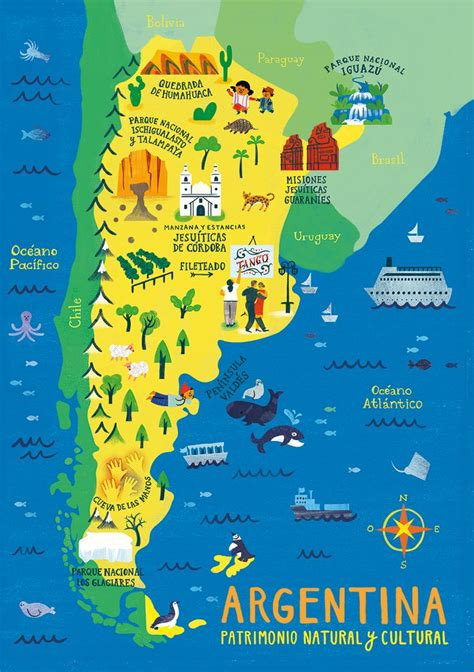 argentina map puzzles  behance buenos aires