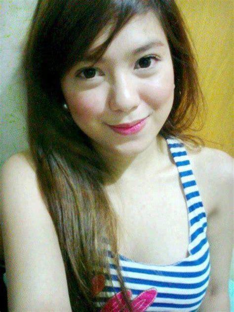 Cute Young Filipina Girls Blooming She Is Nice Selfie