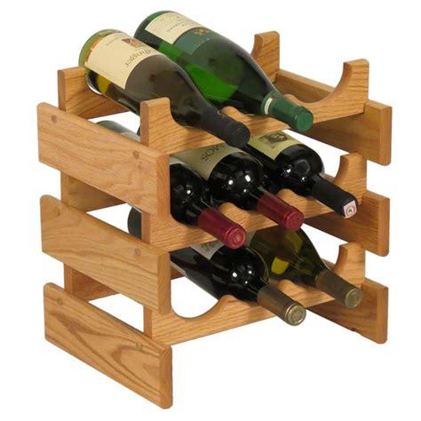 wooden wine rack wood wine rack 9 bottle in wine racks