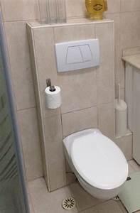 Pose Toilette Suspendu : wc suspendu ~ Melissatoandfro.com Idées de Décoration