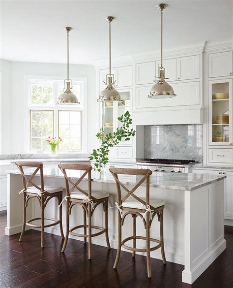 Kitchen Island Stools And Chairs by How To Choose The Right Bar Stools For Your Kitchen Island