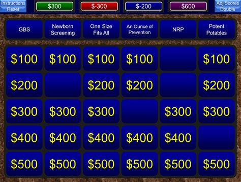 powerpoint jeopardy template   classroom