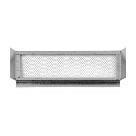 bathroom fan soffit vent home depot construction metals 14 in x 6 in galvanized steel soffit