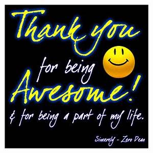 Ways to Make Th... Awesome Thanks Quotes