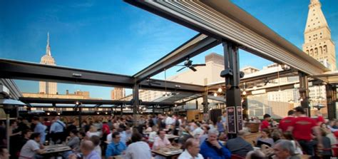 The Best Outdoor Dining & Drinking Places In New York City