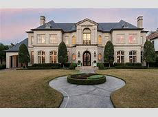 French Style Home In Dallas, Texas Homes of the Rich