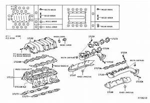 Toyota Sequoia Engine Intake Manifold  Engine Component That Directs Air To The Engine