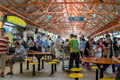 cuisine centre chinatown the corner of singapore travel in
