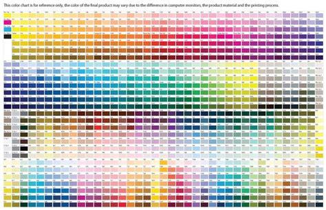 paint color guide pdf pantone s extensive color chart color charts meaning pantone color enabling and