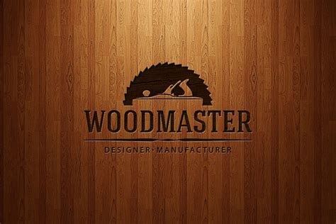 Wood Master Logo on Behance