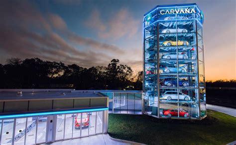 carvana brings   car sales  detroit