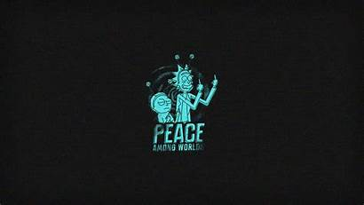 Peace Among Rick Morty Worlds Animated Wallpapers