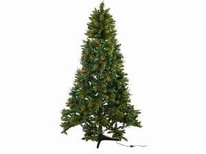 Geschmückte Weihnachtsbäume Christbaum Dekorieren : infactory rotierender weihnachtsbaum mit deko und beleuchtung 180 cm ~ Markanthonyermac.com Haus und Dekorationen