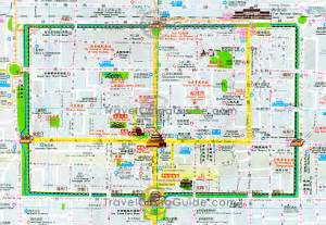 Xi'an Map - Map - Travel - Holiday - Vacations