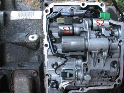 volvo   transmission solenoid replacement wpics