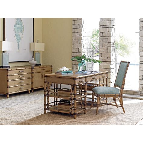 bahama home palms st vincent table desk with