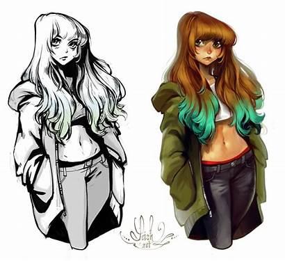 Loish Drawing Tribute Deviantart Manga Illustrator Important