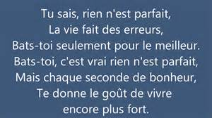Oh La Vie Paroles by Tal Rien N Est Parfait Paroles Youtube