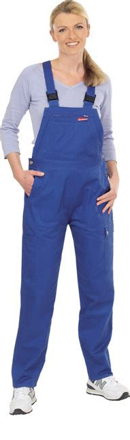 latzhose blau damen damen latzhose arbeitskleidung arbeitshose blau gr36 54 ebay