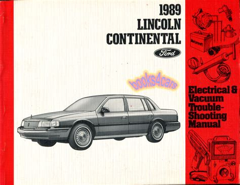 service repair manual free download 1989 lincoln continental mark vii electronic toll collection shop manual continental service repair 1989 lincoln electrical book haynes ebay