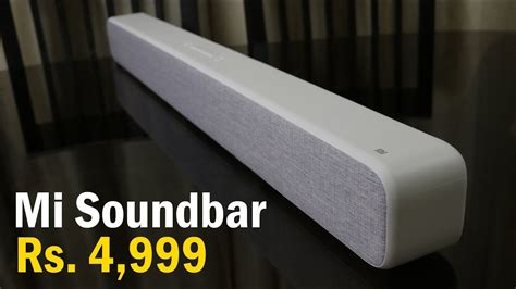mi soundbar review now in india for just rs 4 999 enhance your tv s audio experience