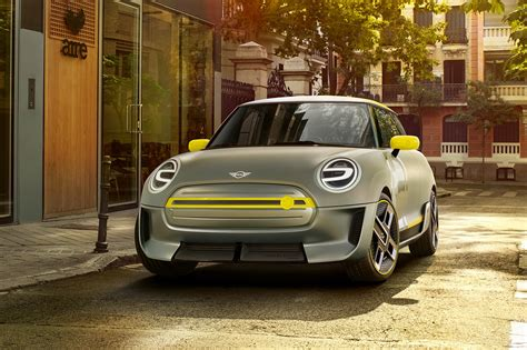 Electric Car by Mini Electric Concept At Frankfurt 2017 Car Magazine