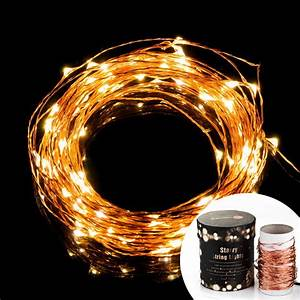Prettiest Led String Lights  Taotronics Copper Wire Lights  Waterproof Starry String Lights