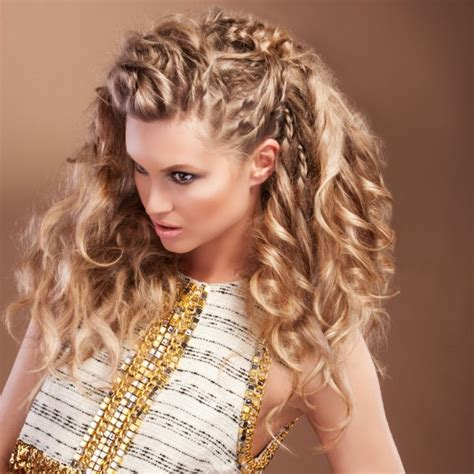 bohemian curly hairstyles curly hairstyles bohemian curls hairstyle woman and home