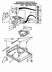 Roper Washing Machine Parts Diagram