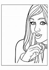 Celebrity Montana Hannah Coloring Pages Books Last Printable Pro Cat Q2 sketch template
