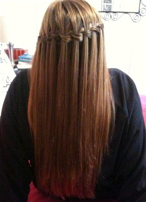 cascade  waterfall hairstyles gallery