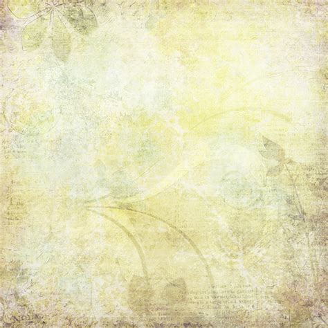 Free Photo Pale Yellow Background  Page, Ornate