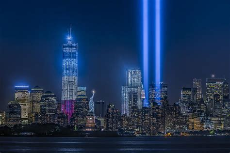 new york city tribute in lights photograph by susan candelario