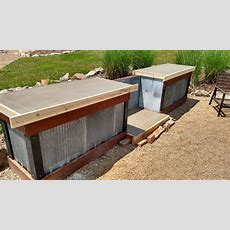 Creating An Inexpensive Outdoor Kitchen With Concrete