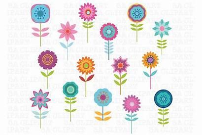 Clipart Flower Market Illustrations Creative