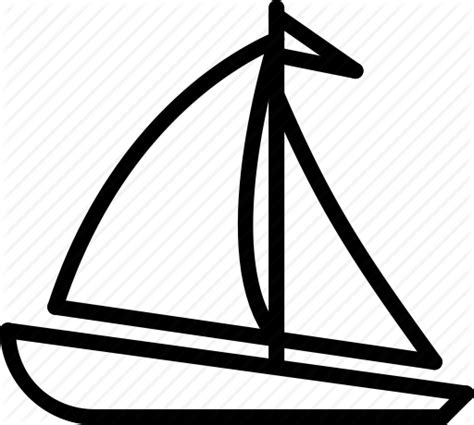 Outline Of Boat To Colour by Transport Outline Collection By Creaticca Ltd
