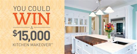 kitchen makeover contest 2014 betterrecipes 1500 kitchen makeover sweepstakes 5397