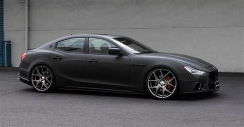'Black Bison Edition' body-kit for Maserati Ghibli