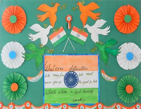notice board decoration ideas  independence day